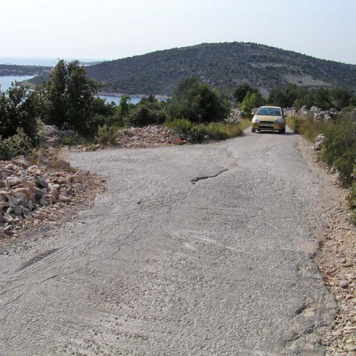 5.4km - 5th crossing, turn left