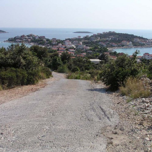 5.6km - a view to the peninsula